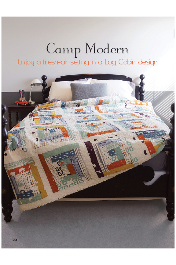 Camp Sur and Camp Modern Collections Featured! | Sew Fine Fabric : modern quilting magazine - Adamdwight.com