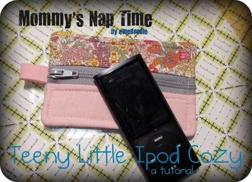 ipod case tutorial