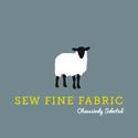 Sew Fine Fabric BQF logo