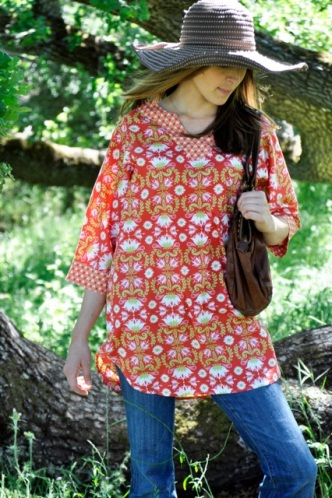 teablossom tunic s